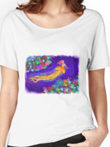 Jellyfish Mermaid! Women's Relaxed Fit T-Shirt