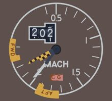Concorde Machmeter by TransitAuthorit
