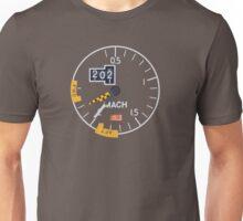 Concorde Machmeter Unisex T-Shirt