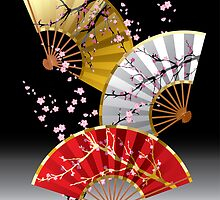 Japanese fans by maystra