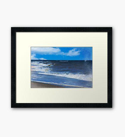 Atlantic Surf Framed Print