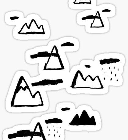 Moutains Sticker