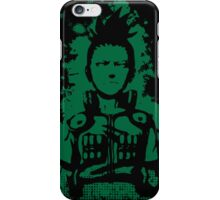 shikamaru grunge sign iPhone Case/Skin