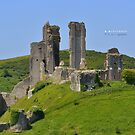 """ Corfe Castle 2014 "" by Richard Couchman"
