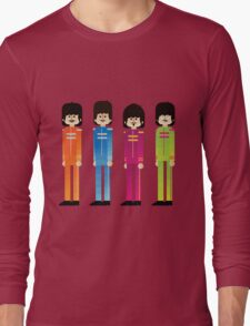 Pepper's Beatles Long Sleeve T-Shirt