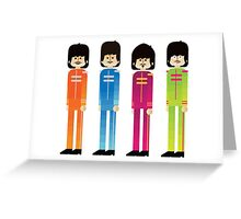 Pepper's Beatles Greeting Card