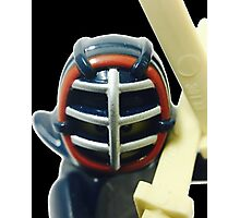 The Kendo Fighter Photographic Print