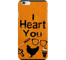 I Heart You - OITNB iPhone Case/Skin