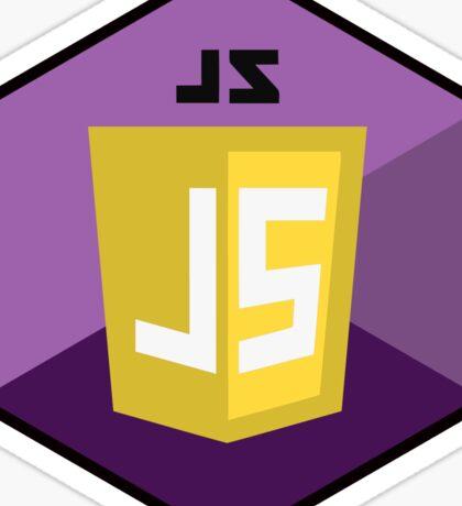 javascript hexagonal hexagon programming language Sticker