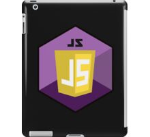 javascript hexagonal hexagon programming language iPad Case/Skin