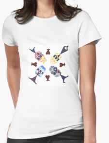Eggs Womens Fitted T-Shirt