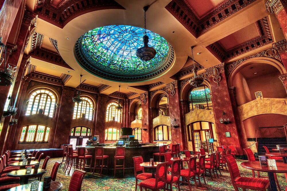Lobby Bar at the El Paso Camino Real Hotel by Ray Chiarello