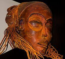 Mummified Faye Dunaway by Al Bourassa