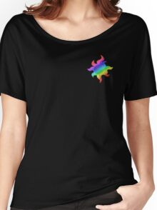 MLP - Cutie Mark Rainbow Special - Sunset Shimmer V2 Women's Relaxed Fit T-Shirt