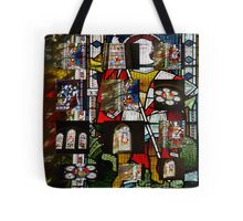 """""""Stained Glass collage"""" Tote Bag"""
