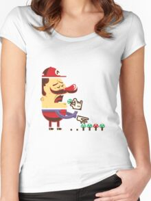 Veggies are life Women's Fitted Scoop T-Shirt