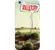 BOLLICKS!!! iPhone Case/Skin