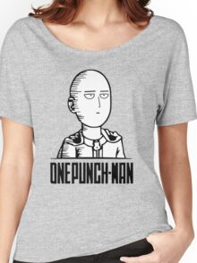 <ONE PUNCH MAN> Saitama Graphic Women's Relaxed Fit T-Shirt