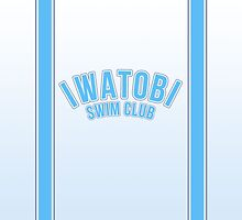 Iwatobi Swim Club - Plain 1 by a745