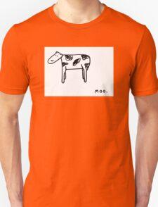 Realistic Cow Unisex T-Shirt
