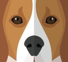 Love My Beagle Dog Sticker