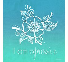 I AM Expressive Photographic Print