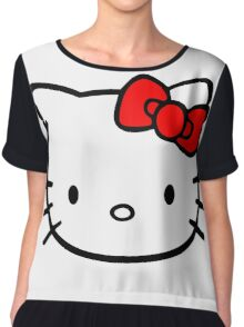Hello Kitty Chiffon Top