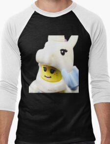 Do you believe in Unicorns? Men's Baseball ¾ T-Shirt