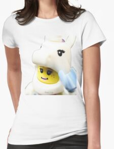 Do you believe in Unicorns? Womens Fitted T-Shirt
