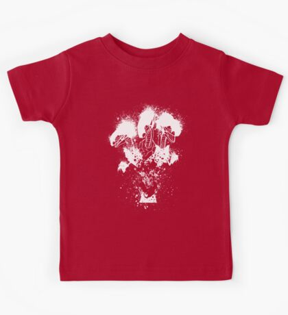 Blue-Eyes Ultimate Dragon 'White only' Kids Tee
