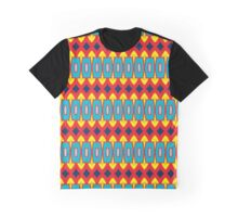 Rhombus and other shapes pattern Graphic T-Shirt