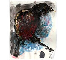 Bird on a Branch (Original Sketch for Bird on a Wire) Poster