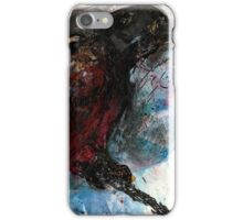 Bird on a Branch (Original Sketch for Bird on a Wire) iPhone Case/Skin