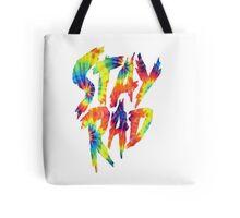 Stay Rad Tie Dye Tote Bag