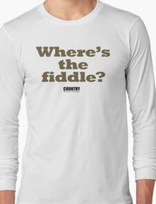 A pertinent question. Long Sleeve T-Shirt