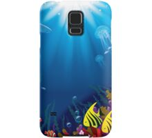 Underwater world Samsung Galaxy Case/Skin