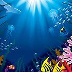 Underwater world by maystra