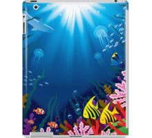 Underwater world iPad Case/Skin