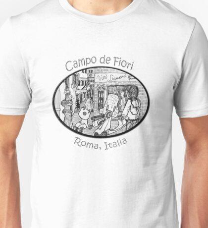 Italy- the Campo de Fiori in Rome * Unisex T-Shirt
