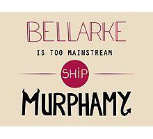 Bellarke is too mainstream Photographic Print