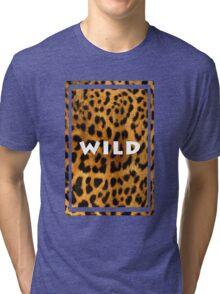 Leopard <3 Tri-blend T-Shirt