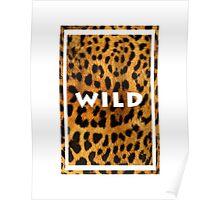 Leopard <3 Poster