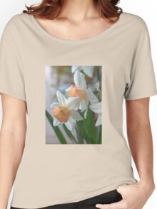 Delicate Daffodils  Women's Relaxed Fit T-Shirt