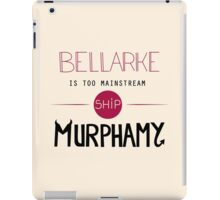 Bellarke is too mainstream iPad Case/Skin