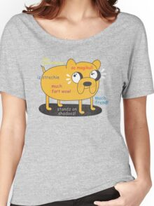 SO ADVINCHURE....MUCH FREND...WOW!! Women's Relaxed Fit T-Shirt