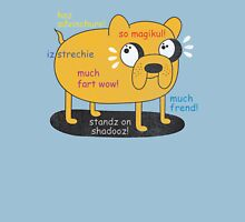 SO ADVINCHURE....MUCH FREND...WOW!! Unisex T-Shirt