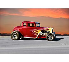1936 Ford 5-Window Coupe Photographic Print