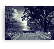 Gothic Moon Canvas Print