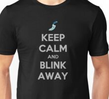 Keep calm and blink away! Unisex T-Shirt