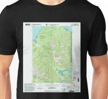 USGS TOPO Map Alaska AK Juneau A-6 356322 2000 63360 Unisex T-Shirt